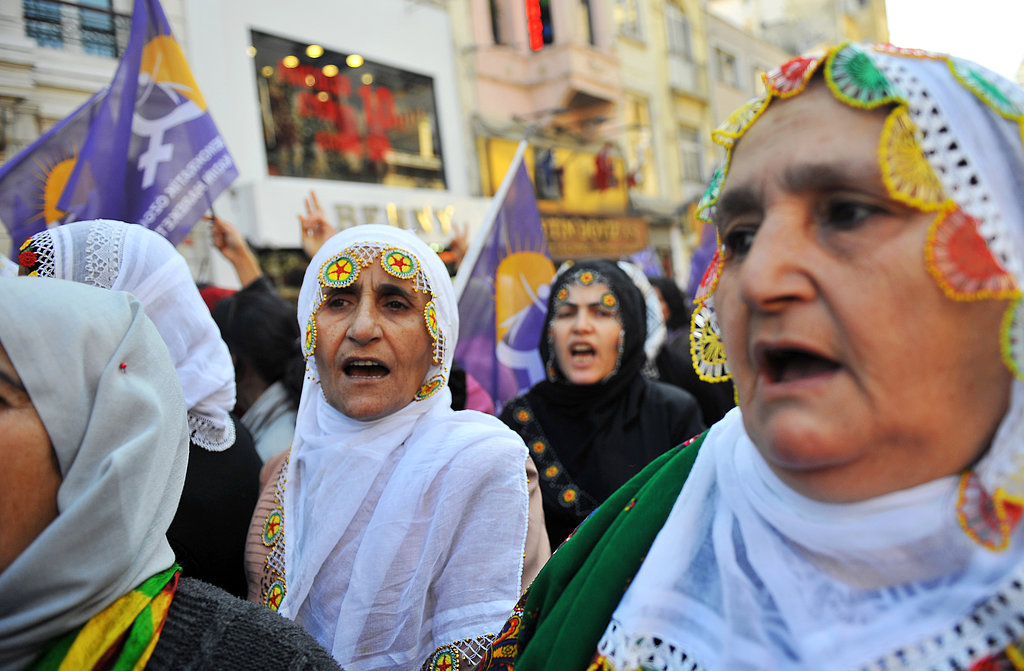 Against the Killings of Kurdish Activists in Istanbul, 2013