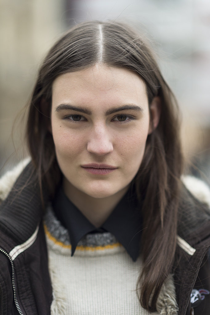 We can't get enough of Maria Bradley's bold brows.  Source: Le 21ème | Adam Katz Sinding