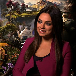 Mila Kunis Interview For Oz the Great and Powerful