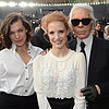 Celebrities at Chanel Fall 2013 Fashion Show