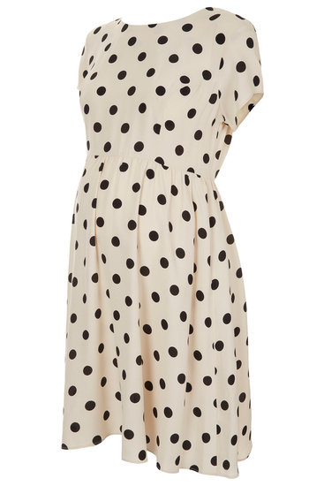 Polka-Dot Flippy Dress