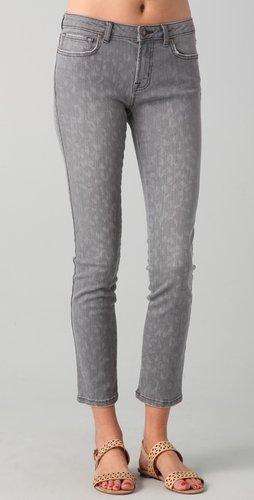 Rebecca taylor Leopard Skinny Jeans