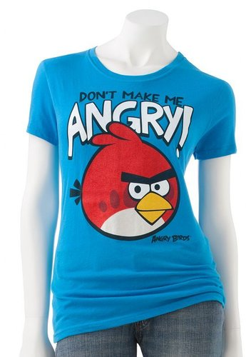 Fifth sun angry birds &quot;don&#039;t make me angry!&quot; tee