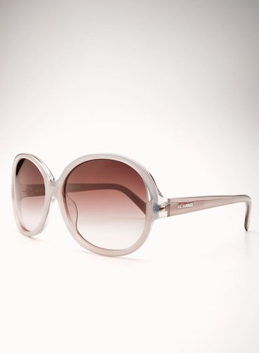 Jill Sander Rounded Frame With Clear Details And Side Logo