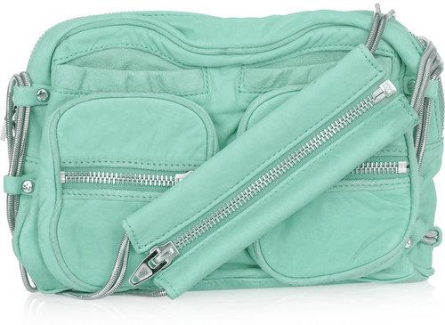 Alexander Wang Brenda chain-trimmed leather shoulder bag