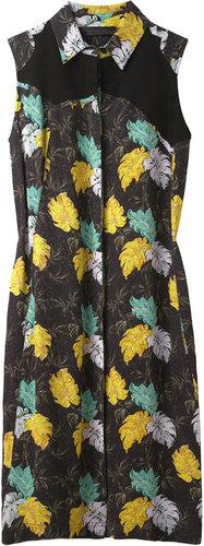 Proenza Schouler / Button Front Shirtdress