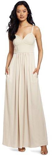 BCBGMAXAZRIA Women's Kyra Cropped Bustier Maxi Dress