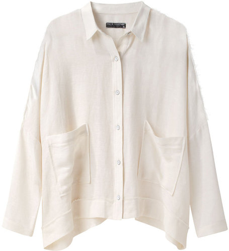 Rag &amp; Bone / Raw Edge Sung Shirt
