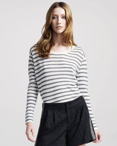 Rag &amp; Bone Hamilton Striped Boxy Top