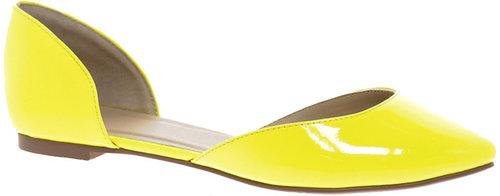 ASOS LIBERTY Pointed Ballet Flats