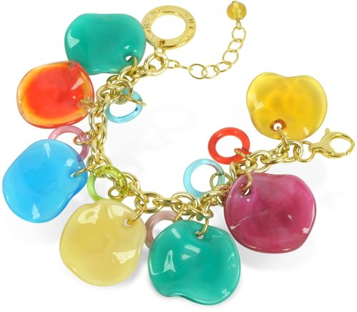 Antica Murrina Shiva - Murano Glass Charm Bracelet