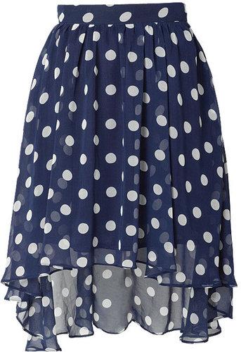 Moon Collection Robin Polka-Dot Skirt