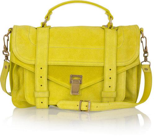 Proenza Schouler PS1 Medium suede satchel
