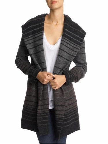 Vince Sophie Varigated Stripe Cashmere Blend Sweater