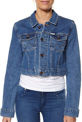 Wrangler Crop Denim Jacket
