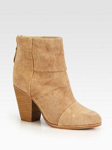 Rag & Bone Classic Newbury Canvas Ankle Boots