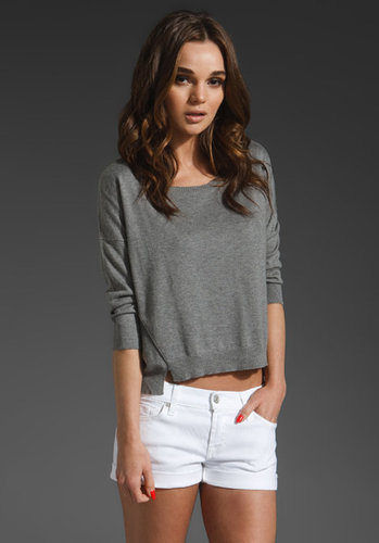 Velvet Selita Cotton Silk Modal Sweater