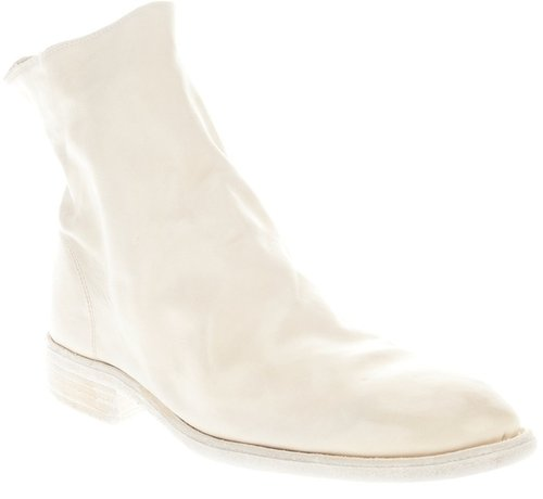 Guidi Zipped ankle boots