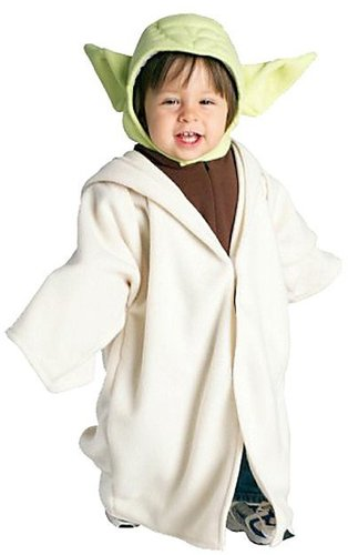 Rubies Star Wars Yoda Fleece Toddler Costume