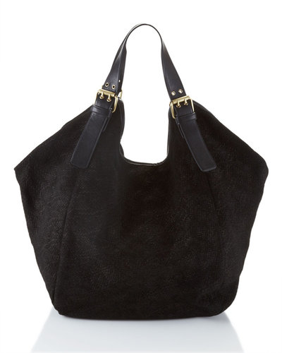 Cynthia Vincent Berkeley Leather Tote Bag, Black