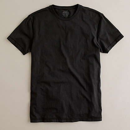 Slim broken-in tee