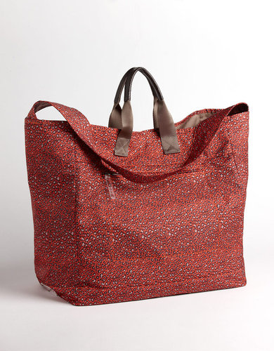 ECHO Large Cheetah Print Tote Bag