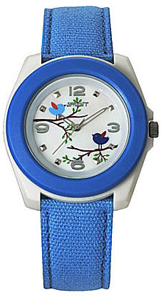 """Sprout """"Birds and Branches"""" Blue Watch"""