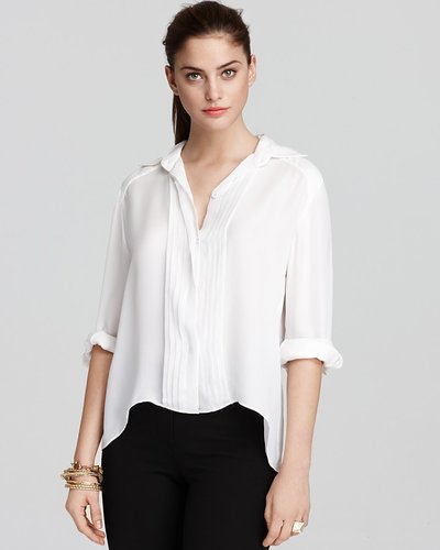 Alice + Olivia Blouse - Pintuck Loose