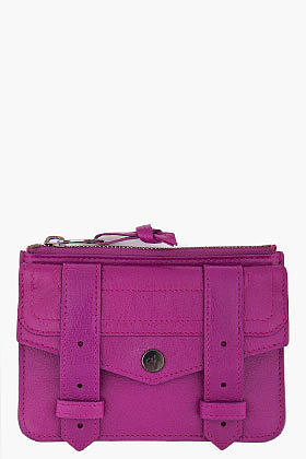 PROENZA SCHOULER PS1 Small Purple Zip Wallet