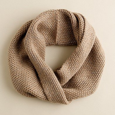 Metallic snood