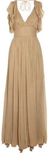 By Malene Birger Malpensa silk-chiffon maxi dress