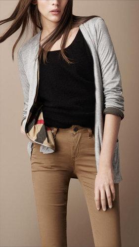 Reversible Zip Front Cardigan