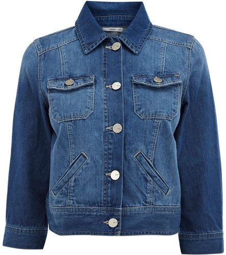 Women&#039;s Oasis Cropped denim jacket