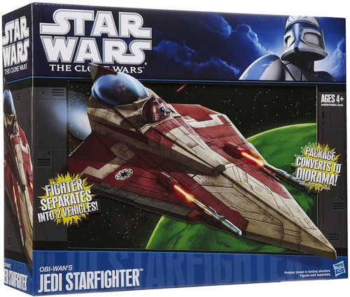 Hasbro Star Wars The Clone Wars Obi-Wan&#039;s Jedi Starfighter