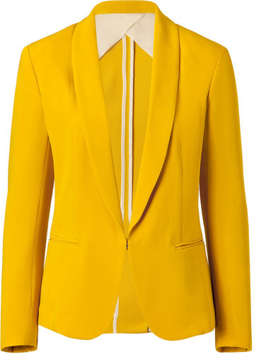 Rag & Bone Mustard Tuxedo Jacket