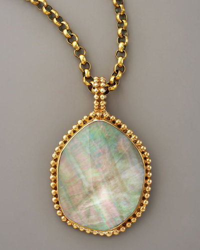 Stephen Dweck Mother-of-Pearl Necklace
