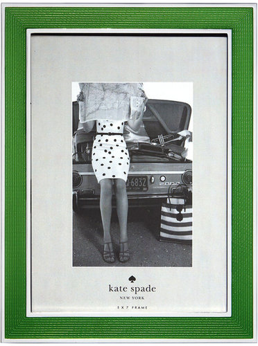 Kate Spade Green Silver-Plated Frame