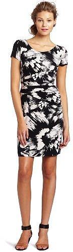 maxandcleo Women's Gloria Printed Jersey Dress