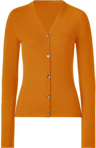 Lucien Pellat-Finet Orange V-Neck L/S Cardigan