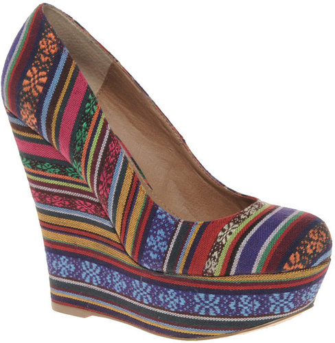 Steve Madden Pammy High Wedge Court Shoes