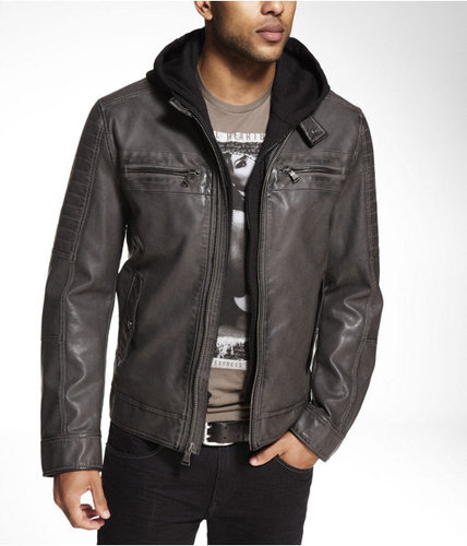 (minus The) Leather Heritage Finish System Jacket