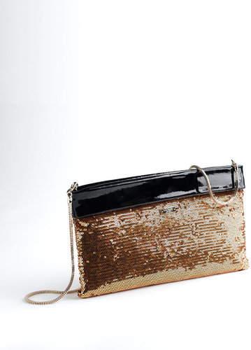 KATE SPADE NEW YORK Agathe Sequin Clutch Bag