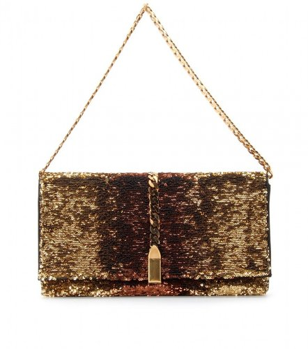 Christian Louboutin CATALINA SEQUINED CLUTCH