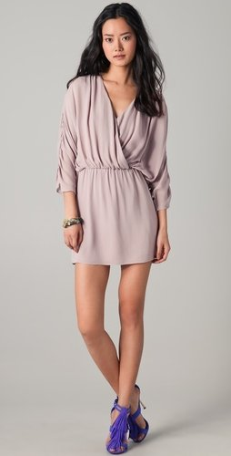 Parker Long Sleeve Ruched Dress