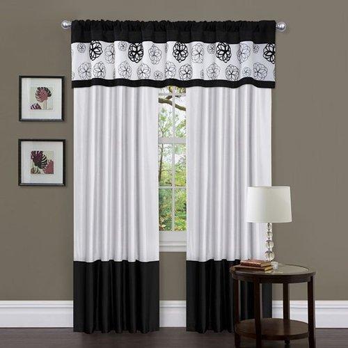Lush decor covina window treatments