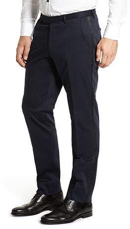 Regular Fit Tuxedo 'Dean' Pant by BOSS Black