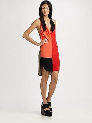 Alexander Wang Colorblock Tank Dress