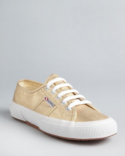 Superga Classic Lam & eacute; Sneakers