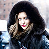 Street Style Hair and Makeup | Fashion Month Fall 2013