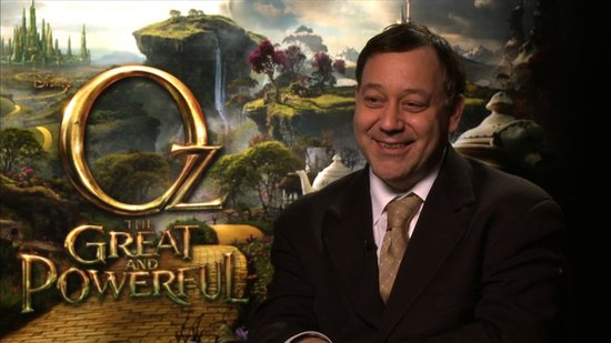 Sam Raimi on Why James Franco Is Perfect For Oz the Great and Powerful